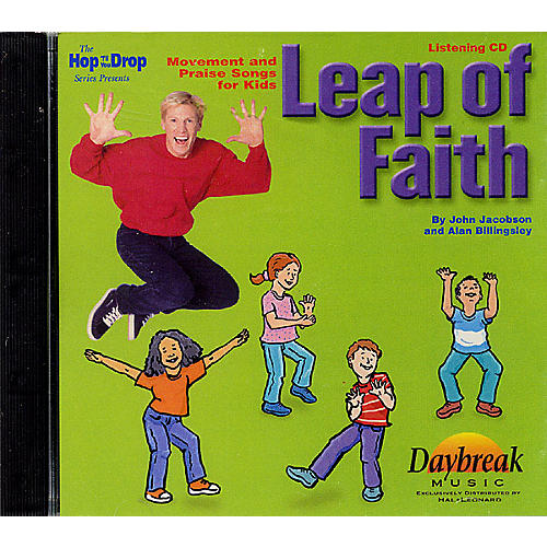 Hal Leonard Leap of Faith (Movement and Praise Songs for Kids) Listening CD composed by John Jacobson-thumbnail