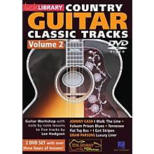 Hal Leonard Learn Country Guitar Classic Tracks Volume 2 (DVD)