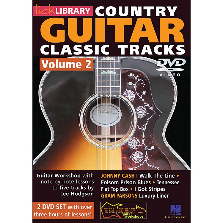 Hal Leonard Learn Country Guitar Classic Tracks Volume 2 (DVD)