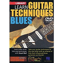Licklibrary Learn Guitar Techniques: Blues (Stevie Ray Vaughan Style) Lick Library Series DVD Written by Stuart Bull