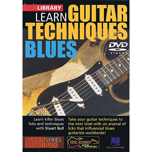 Licklibrary Learn Guitar Techniques: Blues (Stevie Ray Vaughan Style) Lick Library Series DVD Written by Stuart Bull-thumbnail