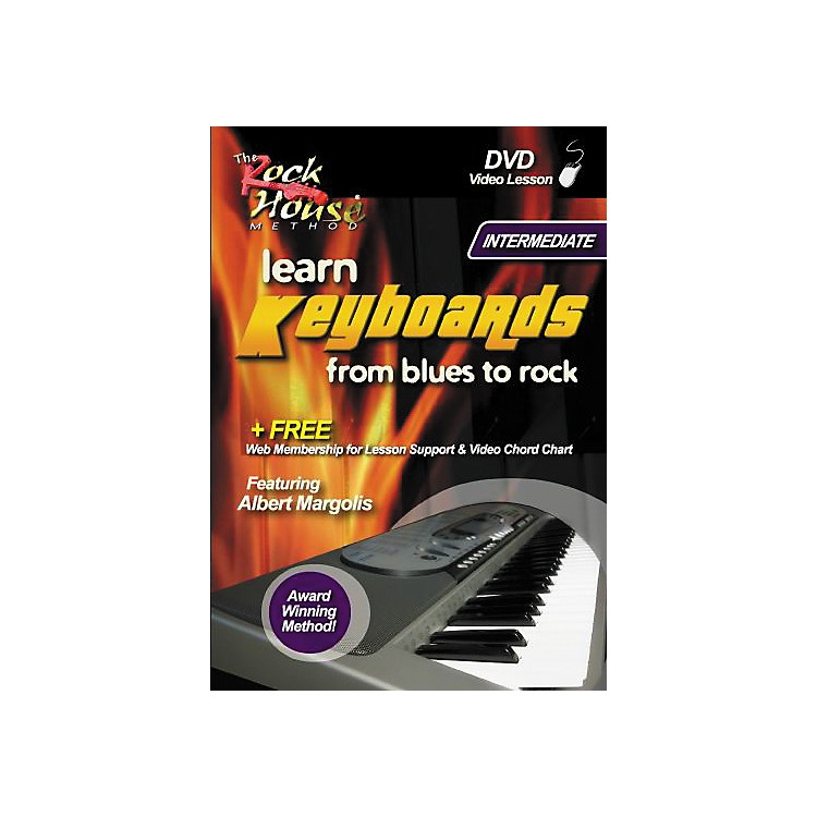 Rock House Learn Keyboards From Blues to Rock Intermediate DVD