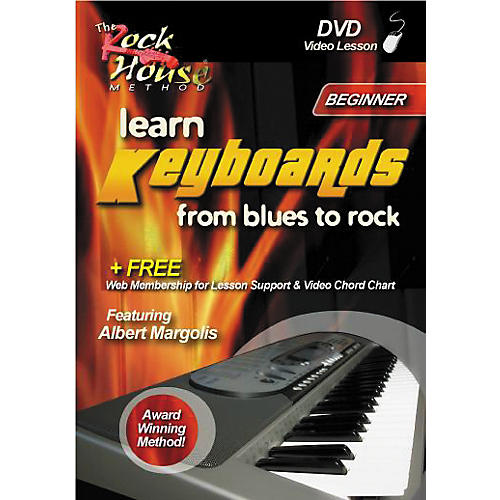 Rock House Learn Keyboards from Blues to Rock - Beginner (DVD)