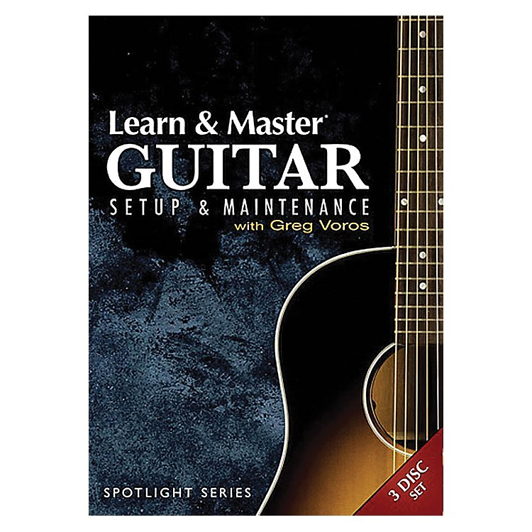Hal Leonard Learn & Master Guitar Setup And Maintenance 3-DVD Set Legacy Of Learning Series