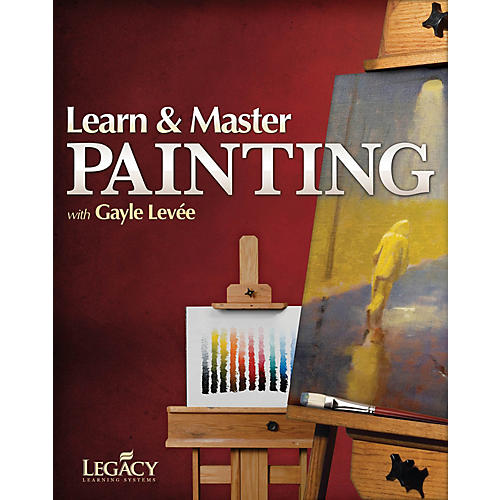 Legacy Learning Learn & Master Painting Consumer/Instructional/Gtr/DVD Series Written by Gayle Levée-thumbnail