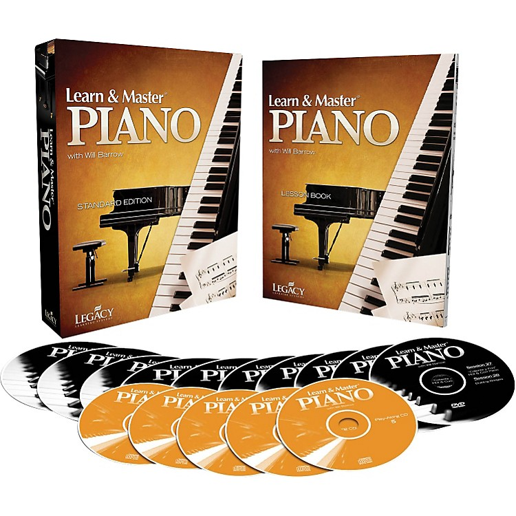 Hal Leonard Learn & Master Piano DVD/CD/Book Pack Legacy Of Learning Series