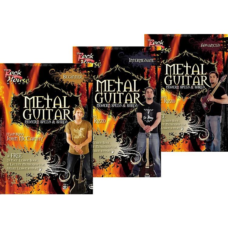 Rock HouseLearn Metal Guitar Beginner, Intermediate, & Advanced Package
