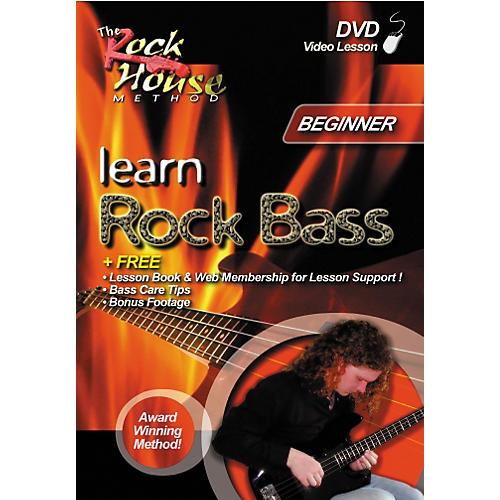Rock House Learn Rock Bass Beginner (DVD)-thumbnail