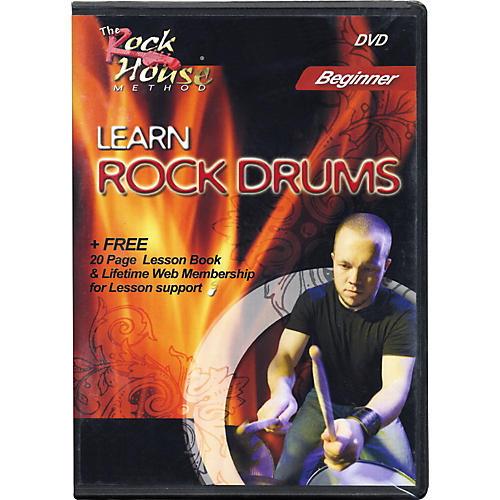 Rock House Learn Rock Drums Beginner Featuring Mark Manczuk