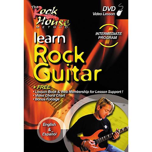 Rock House Learn Rock Guitar Intermediate DVD