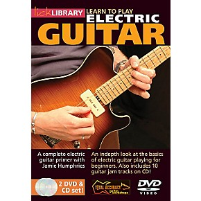 I want to learn how to play electric guitar. Which book ...