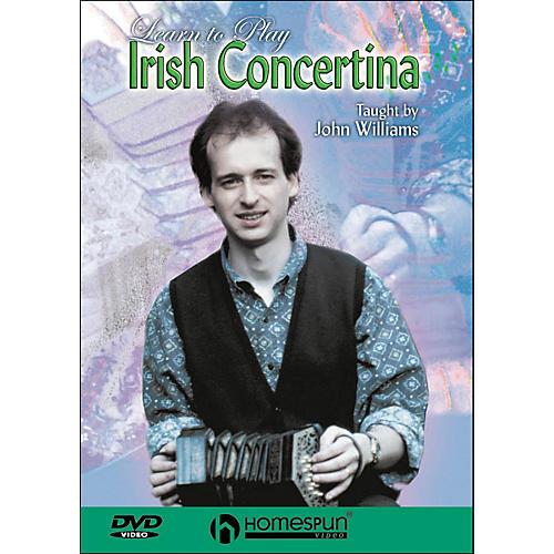 Homespun Learn To Play Irish Concertina (DVD)-thumbnail