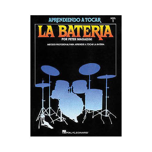 Hal Leonard Learn To Play The Drum Set/Aprendiendo a Tocar La Bateria Nivel 1 Spanish-thumbnail