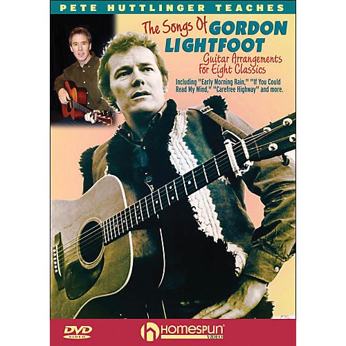 Homespun Learn To Play The Songs Of Gordon Lightfoot (DVD)