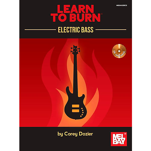 Mel Bay Learn to Burn: Electric Bass