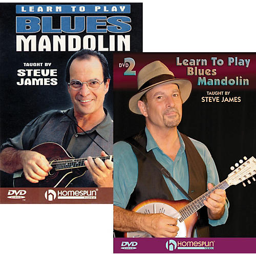 Homespun Learn to Play Blues Mandolin (2 DVDs)