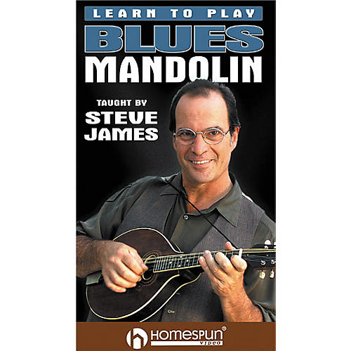 Homespun Learn to Play Blues Mandolin (VHS)