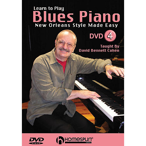 Learning Blues Piano From Music Score: Homespun Learn To Play Blues Piano Homespun Tapes Series