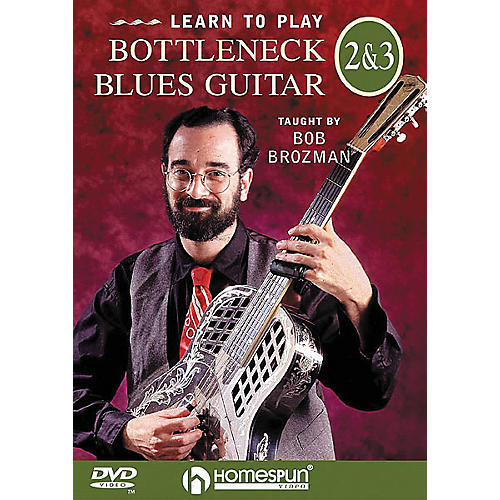 Homespun Learn to Play Bottleneck Blues Guitar 2 and 3 (DVD)