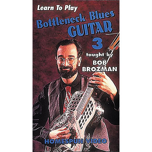 Homespun Learn to Play Bottleneck Blues Guitar 3 (VHS)