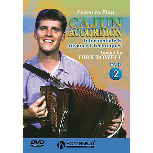 Homespun Learn to Play Cajun Accordion DVD/Instructional/Folk Instrmt Series DVD Written by Dirk Powell-thumbnail
