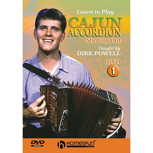 Homespun Learn to Play Cajun Accordion DVD/Instructional/Folk Instrmt Series DVD Written by Dirk Powell-thumbnail