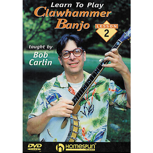 Homespun Learn to Play Clawhammer Banjo Lesson 2: Intermediate (DVD)