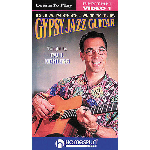Homespun Learn to Play Django-Style Gypsy Jazz Guitar 1 (VHS)