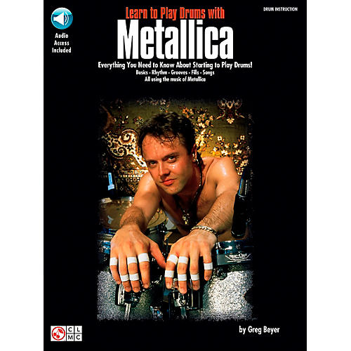 Hal Leonard Learn to Play Drums with Metallica Book/CD