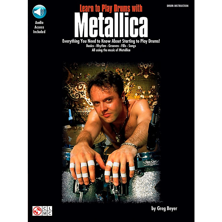 Hal LeonardLearn to Play Drums with Metallica Book/CD