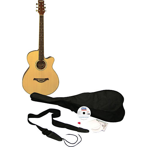 Emedia Learn to Play Guitar Acoustic Guitar Pack