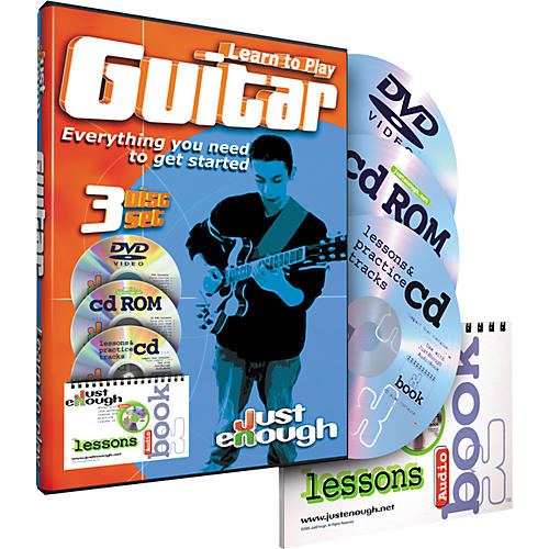 JustEnough Learn to Play Guitar Starter Pack-thumbnail