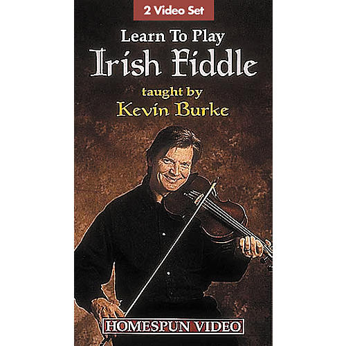 Hal Leonard Learn to Play Irish Fiddle - 2-Video Set-thumbnail