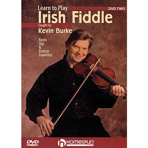 Homespun Learn to Play Irish Fiddle, Lesson Two DVD/Instructional/Folk Instrmt Series DVD Written by Kevin Burke-thumbnail