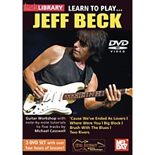 Mel Bay Learn to Play Jeff Beck 2 DVD Set