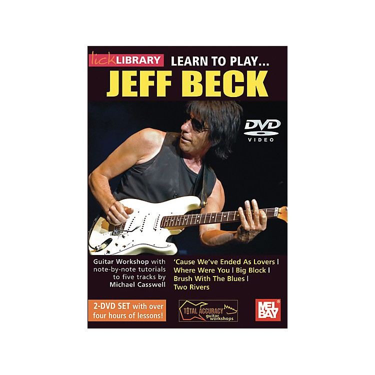 Hal Leonard Learn to Play Jeff Beck 2 DVD Set