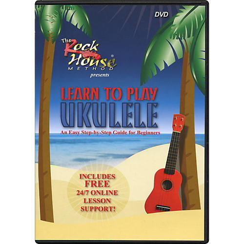 Rock House Learn to Play Ukulele, An Easy Step-by-Step Guide for Beginners (DVD)