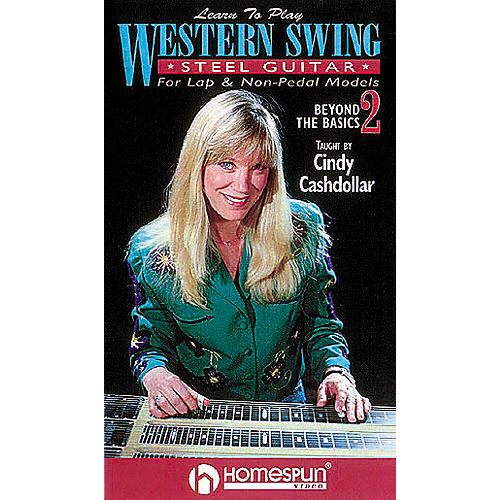 Homespun Learn to Play Western Swing Steel Guitar 2 (VHS)