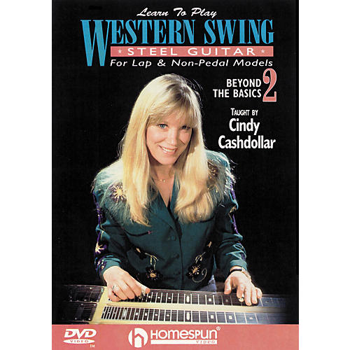 Homespun Learn to Play Western Swing Steel Guitar Lesson 2 Beyond the Basics (DVD)-thumbnail