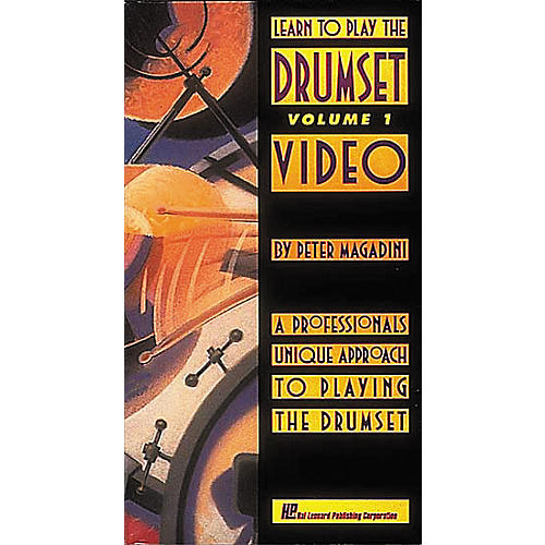 Hal Leonard Learn to Play the Drumset Video Volume 1-thumbnail