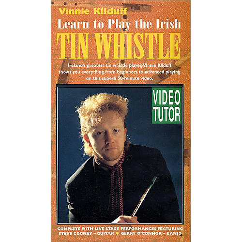 Waltons Learn to Play the Irish Tin Whistle (DVD)