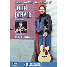 Homespun Learn to Play the Songs of John Denver - Level 3 (DVD)