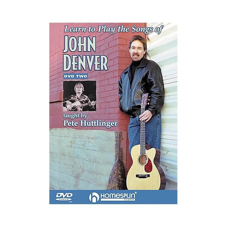 HomespunLearn to Play the Songs of John Denver - Level 3 (DVD)