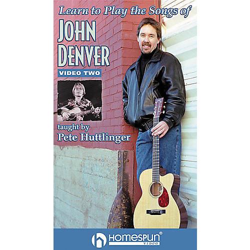 Homespun Learn to Play the Songs of John Denver (VHS)-thumbnail