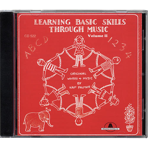 Educational Activities Learning Basic Skills Through Music - Volume 2 (CD)