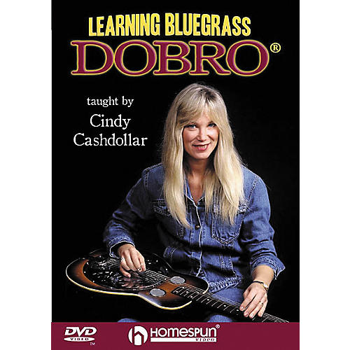 Homespun Learning Bluegrass Dobro (DVD)