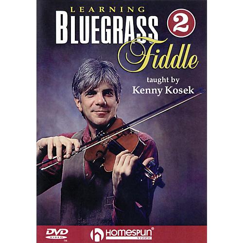 Homespun Learning Bluegrass Fiddle DVD/Instructional/Folk Instrmt Series DVD Written by Kenny Kosek-thumbnail
