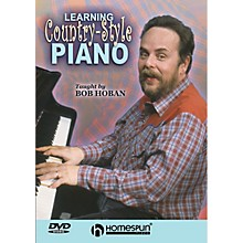 Homespun Learning Country-Style Piano Homespun Tapes Series DVD Written by Bob Hoban