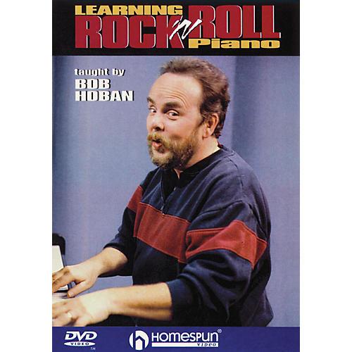 Homespun Learning Rock 'n' Roll Piano Homespun Tapes Series DVD Written by Bob Hoban-thumbnail