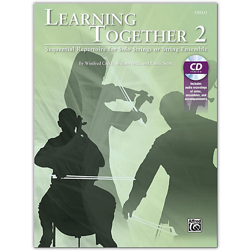 Suzuki Learning Together 2 Cello Book & CD-thumbnail